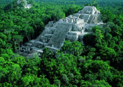 Las ruinas mayas de Calakmul