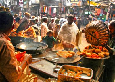 Varanasi Streets food