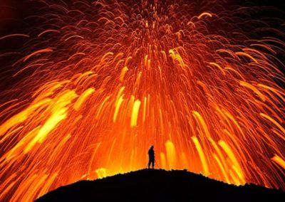 Lava del volcán Fimmvorduhals