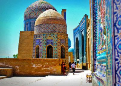 Necrópolis-de-Shah-i-Zinda