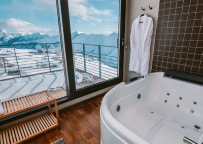 Quadrum Ski&Yoga Resort in Gudauri 2
