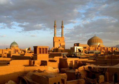Yazd famous desert city