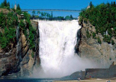 Montmorency-Falls-Quebec-Canada
