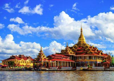 Myanmar Inle Lake Phaung