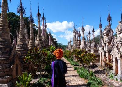 Pagoda de Kakku Myanmar
