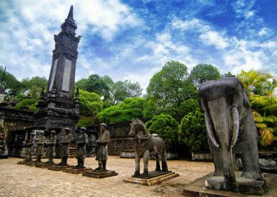Tomb of Khai Dinh emperor