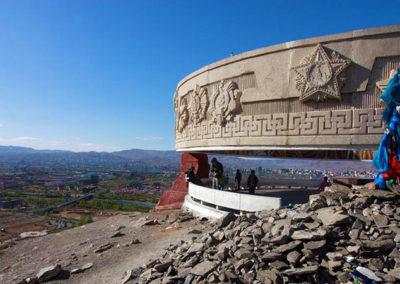 Zaisan memorial, Ulan Bator 2