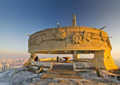 Zaisan memorial, Ulan Bator