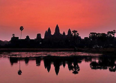 camboya atardecer
