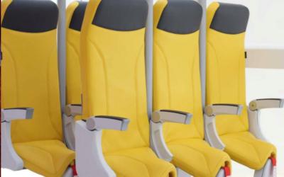 La compañía Avio Interiors presentó su nueva generación de asientos llamada Skyrider 2.0 y sorprende.
