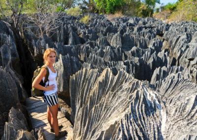 tsingy-tourist