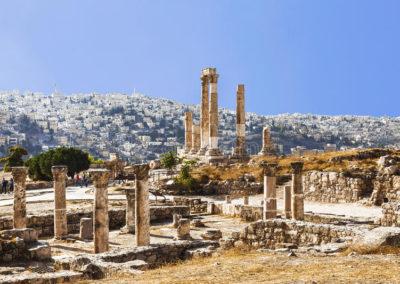 FOTO las-ruinas-del-templo-de-hércules-en-ammanjpg