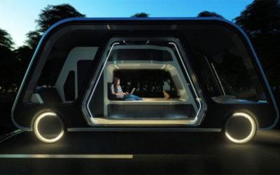 La suite futurista del hotel lo conduciría mientras duerme